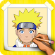 How To Draw Naruto Characters Step By Step by CCGAMES : Games For Kids