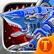 Toy Robot War:Robot Shark by acool