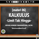 Materi Kalkulus (part3) by Azta Developer