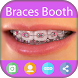 Brace Selfie Beauty Photo edit by Pink Lady Inc