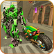 Flying Bike Robot Transformation Epic Wars by White Sand - 3D Games Studio