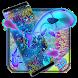 Neon koi fish theme