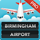 FLIGHTS Birmingham Airport Pro by FlightInfoApps.com