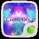 Colorful Galaxy Keyboard Theme by GO Keyboard Dev Team