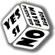 Choices dice (freecode inside) by NoRulesApps