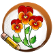 Draw Flowers by Magic Colors