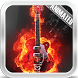 Fire Guitar Lwp Wallpaper by Video Animated Live Wallpapers