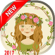 Flowers Crown Photo Sticker by Boite drawing