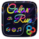 Color Run Go Launcher Theme by Freedom Design
