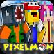 Mod Minecraft Pixelmon 0.16.0 by Go App LLC Poket
