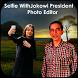 Selfie With Jokowi President by Pink Info
