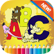 Animal ABC Coloring Book by Life & Kids Station.