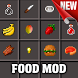 Food mods for Minecraft PE by Quanjewy