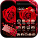 Red Rose Theme Gold Metal by Fashion Themes Studio