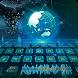 Blue Golden Hi-Tech Holographic Computer Theme by Brandon Buchner