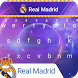 Real Madrid Galactical Keyboard Theme by Football Keyboard Theme Lab