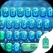 Blue Diamond Typany Keyboard by Typany Keyboard Theme Studio