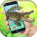 Wild Crocodile Attack in phone screen scary joke by Enjoy4Fun