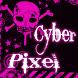 Emo Punk Clock by Cyber Pixel