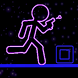 Glow Stick-Man Run: Neon Laser by Healthy Body Apps