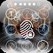 Fingerprint Neon Lock Screen by IdrSal studio