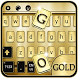 Luxury Gold Keyboard Theme by NeoStorm We Heart it Studio