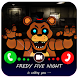 Five Nights Scary Call From Freddy