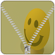 Yellow Smile Zipper LockScreen by Dhwani Infotech