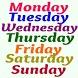 Día de la semana