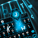 ufo robot ai keyboard neon blue light future by Keyboard Creative Park