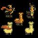 Llama Giving Game by Ákos Nikházy - Yzahkin