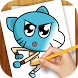 Learn to Draw Gumball by Draw Artworks
