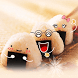Funny Rice Balls by Launcher phone theme