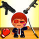 Kill The Bad Stickman Boss 1 by Run And Gun Free Android Games