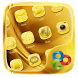 Golden GO Launcher Theme by Freedom Design