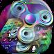 Fidget Spinner Fastest Rainbow Keyboard by Keyboard Theme Creator
