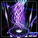 3D Neon Lines Theme