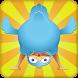 Grumpy funny Bird by Aypogek studio