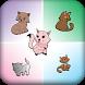 Kitten Memory Games Matching by KidsStudio