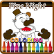 Coloring Book Five Nights by kidsappstations