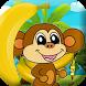 Monkey Jungle Banana by MASHA & BEAR games