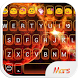 Mars Love Emoji Keyboard Theme by Emoji Family