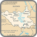 South Sudan Map by world map HD information