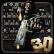 3D Devil Skull Keyboard Theme