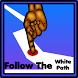 Follow the white path by Haraldur Þrastarson