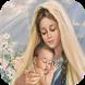 Virgen Maria buenos dias