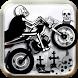 Devil Motorbike Ride by Sharp Shark