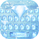 Blue diamond Keyboard Theme by NeoStorm We Heart it Studio