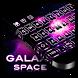 Galaxy Space Keyboard by Cool Theme Studio