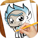 Learn to Draw Rick and Morty by Draw Artworks